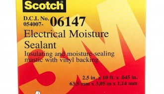 3M Scotch® Reinforced Paper Electrical Insulation Tape 06147