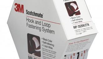 3M SJ-3526 Black Hook Fastener