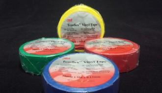 3M Teflon Assorted Colours PVC Electrical Insulation Tape Temflex 1300