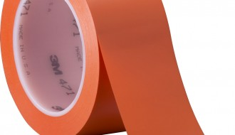 3M 471 ORANGE VINYL FLOOR MARKING TAPE (50mm x 33m x 0.14mm)