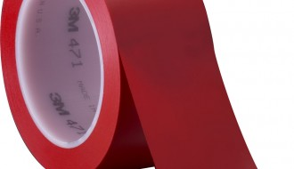 3M 471 RED VINYL FLOOR MARKING TAPE (50mm x 33m x 0.14mm)