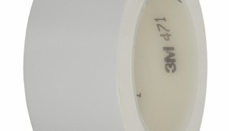 3M 471 WHITE VINYL TAPE (25mm x 33m x 0.14mm)