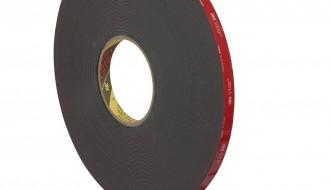 3M™ 5952 Black Polyethylene Double Sided Foam Tape