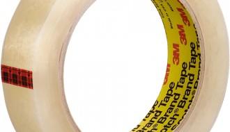 3M Scotch® Premium Transparent Film Tape 600 1″X72YD