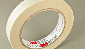 3M Scotch® 69 White Glass Cloth Electrical Insulation Tape