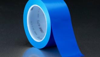 3M 471 BLUE VINYL FLOOR MARKING TAPE (50mm x 33m x 0.14mm)
