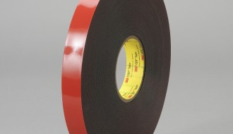 3M™ 5952 Black, White Acrylic Foam Double Sided Tape