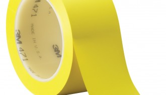3M 471 YELLOW VINYL FLOOR MARKING TAPE (50mm x 33m x 0.14mm)