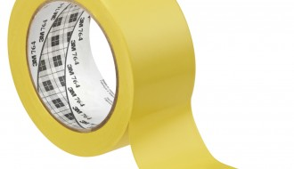 3M YELLOW VINYL FLOOR MARKING TAPE (50mm x 33m x 0.13mm)
