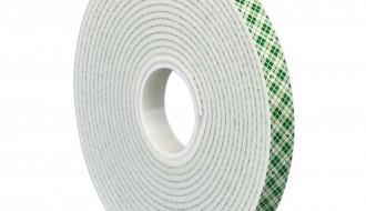 3M™ Double Coated Urethane Foam Tape 4008 Off-White