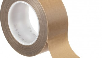 3M 5453 Brown PTFE Tape (25mm x 32.9m x 0.21mm)