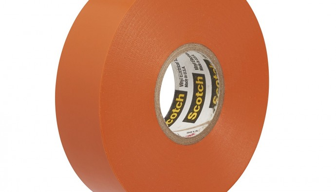 3M Scotch® 35 Orange PVC Electrical Insulation Tape