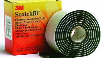 3M™ Scotchfil™ Black Electrical Insulation Putty