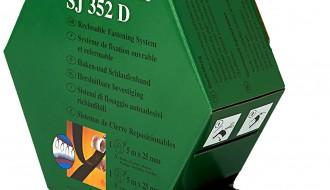 3M Black SJ352D, 25mm x 5m