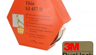 3M Transparent SJ457D, 25mm x 5m