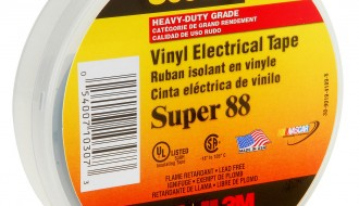 3M Scotch® Professional Grade Vinyl Electrical Tape Super 88