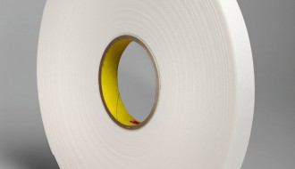 3M™ Double Coated Polyethylene Foam Tape 4466 White