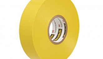 3M Scotch® 35 Yellow PVC Electrical Insulation Tape