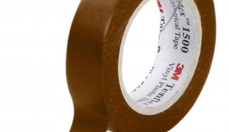 3M Temflex™ Brown PVC Electrical Insulation Tape 1500