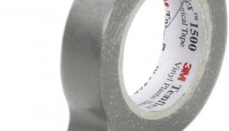 3M Temflex™ Grey PVC Electrical Insulation Tape 1500