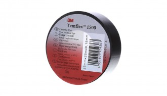 3M Temflex™ Black PVC Electrical Insulation Tape 13/100
