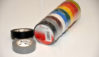 3M Temflex™ Assorted Colours PVC Electrical Insulation Tape 1500