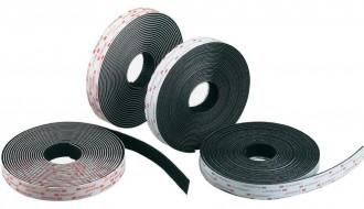 3M Black Hook & Loop Tape SJ3551 25.4mm x 45.7m