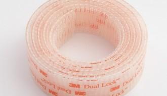 3M Transparent Hook & Loop Tape SJ3541 x 45.72m