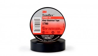 3M Temflex™ Black PVC Electrical Insulation Tape 1700