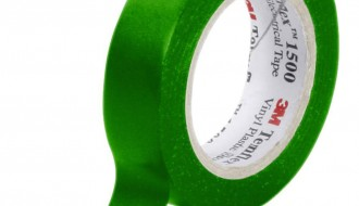 3M Temflex™ Green PVC Electrical Insulation Tape 1500