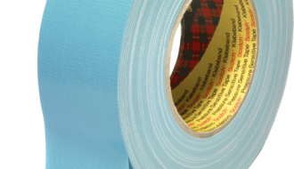 3M™ 389 PE Coated Blue Cloth Tape 50mm x 50m 0.26mm Thick