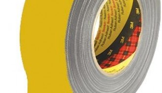 3M™ 389 PE Coated Yellow Cloth Tape 50mm x 50m 0.26mm Thick