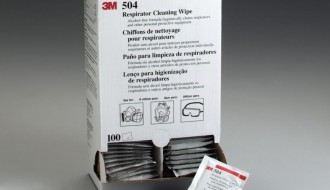3M™ 504 Respirator Cleaning Wipes