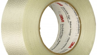 3M Scotch 1339 Glass Natural Translucent Cloth Tape 19mm x 55m, 0.16mm Thick
