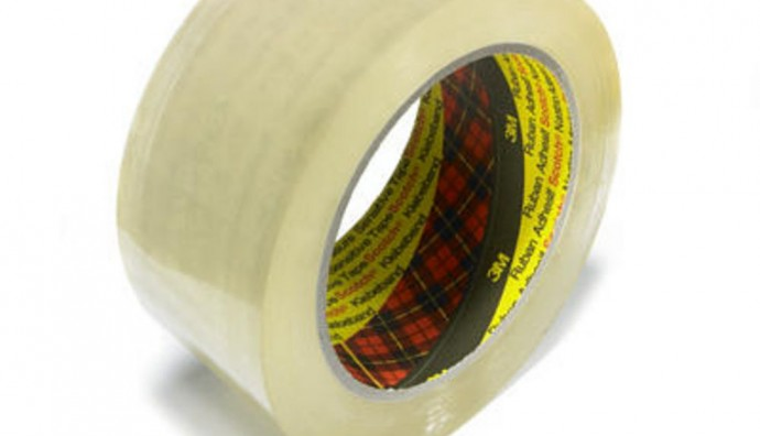3M 310 Clear Office Tape 19mm x 33m