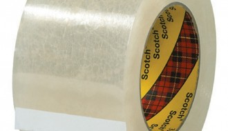 3M 313 TRANSPARENT SINGLE SIDED TAPE ( 50mm x 100m )