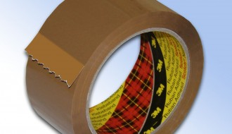3M 371 B BROWN SINGLE SIDED TAPE
