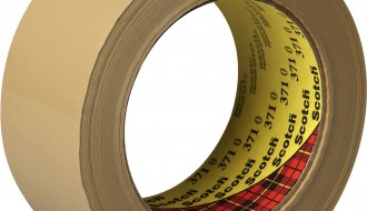3M 371 BROWN SINGLE SIDED TAPE