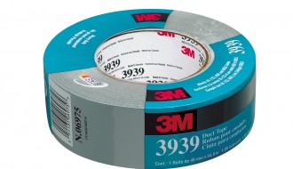 3M™ 3939 PE Coated Silver Duct Tape (55m x 48mm x 0.23mm)