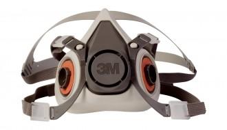 3M 6100 Half Facepiece Respirator Size S