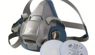 3M 6200 Half Facepiece Respirator + 3M 2071 P95 Particulate Filter