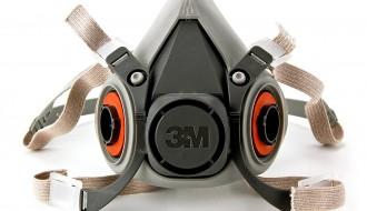 3M 6200 Half Facepiece Respirator Size M