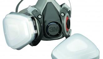 3M 6200 Half Facepiece Respirator + 3M 6001 Organic Vapor Cartridge