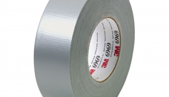 3M™ 6969 PE Coated Silver Duct Tape (55m x 48mm x 0.27mm)