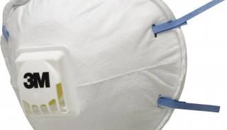 3M 8822 Particulate Respirator (Valved)