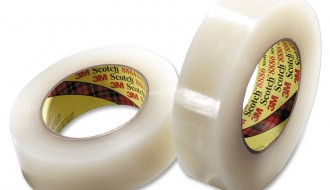 3M Scotch 8886 Clear Cloth Tape, 36mm x 55m, 0.18mm Thick