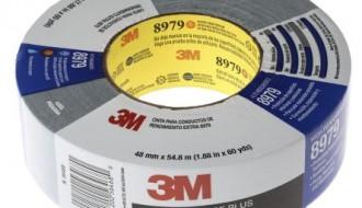 3M™ 8979 PE Coated Blue Duct Tape (55m x 48mm x 0.33mm)