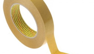 3M 9040 BEIGE DOUBLE SIDED TISSUE TAPE ( 25mm x 50m x 0.1mm )