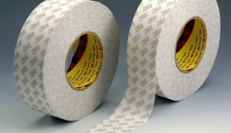 3M 9080 WHITE DOUBLE SIDED TISSUE TAPE ( 25mm x 50m x 0.16mm )