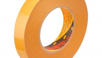 3M 9084 BEIGE DOUBLE SIDED TISSUE TAPE ( 12mm x 50m x 0.1mm )
